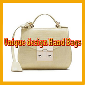 Unique Design Handbag icon