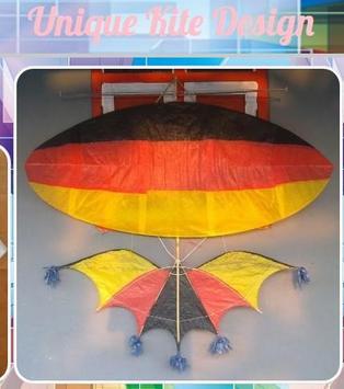 Unique Kites Design poster