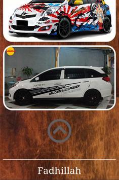 Unique Sticker Design for Car apk screenshot