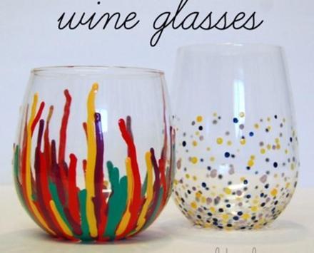 Unique  Wine Glasses poster