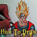 how to draw goku Dragon Ball Z