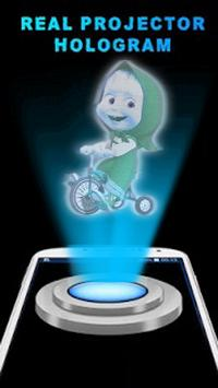 Masha 3D Hologram Joke apk screenshot