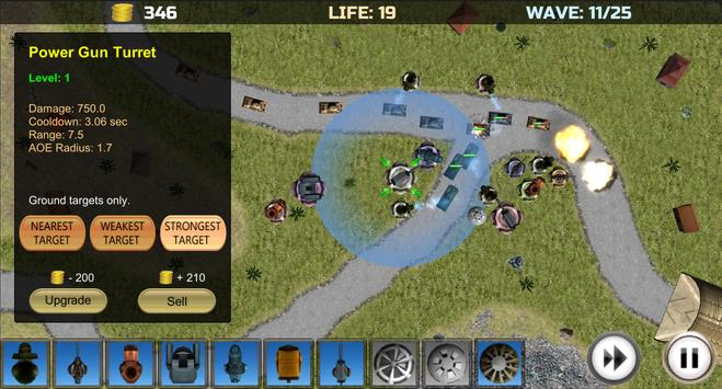 Tower Defense: Turrets Lite screenshot 3