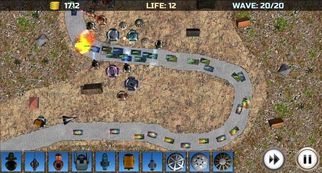Tower Defense: Turrets Lite screenshot 4