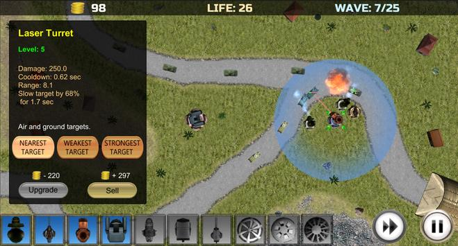 Tower Defense: Turrets Lite screenshot 5