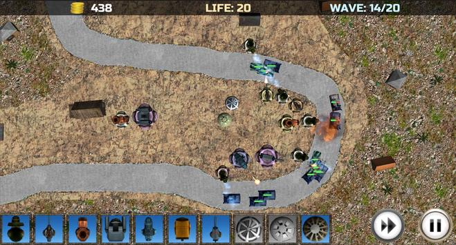 Tower Defense: Turrets Lite screenshot 6