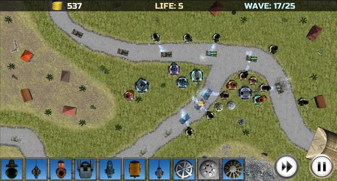 Tower Defense: Turrets Lite screenshot 7