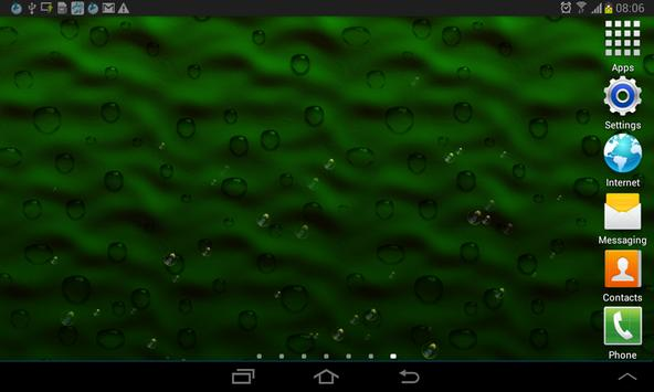 Green Scroll LWP apk screenshot