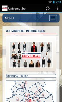 Universal.be immo à Bruxelles screenshot 3