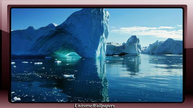 North Pole Wallpaper poster