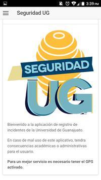 Seguridad UG poster