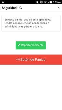 Seguridad UG screenshot 1