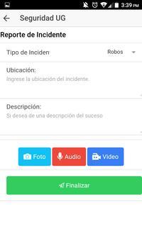 Seguridad UG screenshot 2