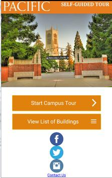 University of the Pacific Tour poster