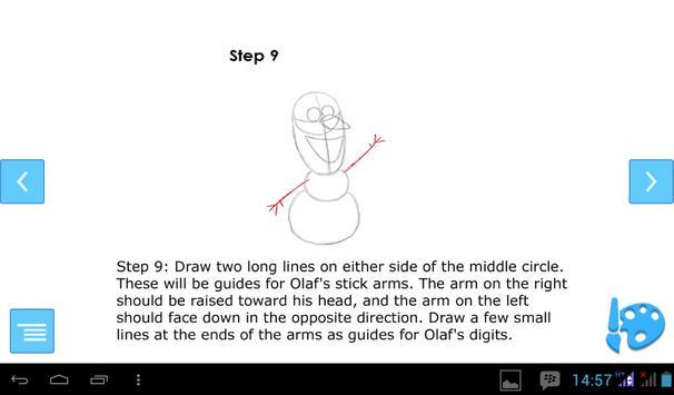 How to Draw Olaf screenshot 1