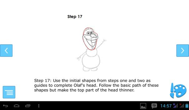 How to Draw Olaf screenshot 7