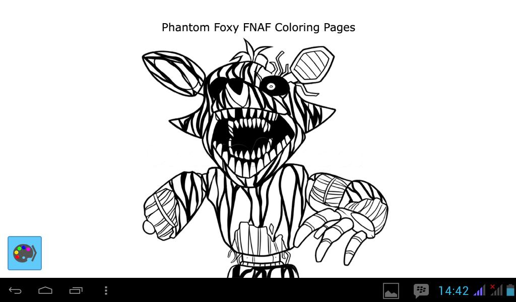Print fnaf foxy to color coloring pages | Fnaf coloring pages ... | 600x1024