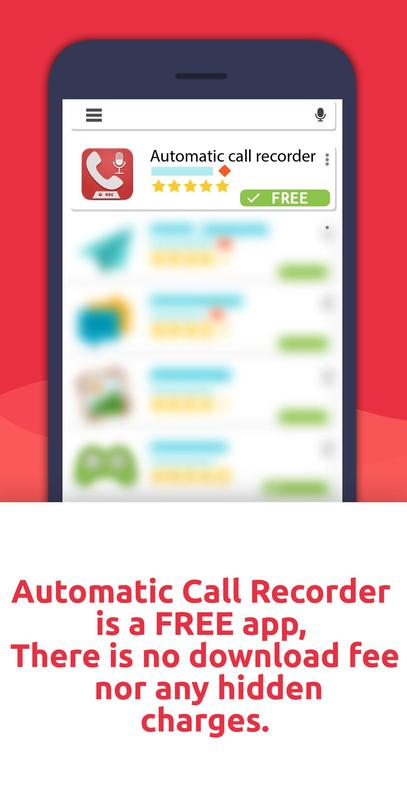 free automatic call recorder pro for android