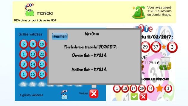 Mon Loto apk screenshot