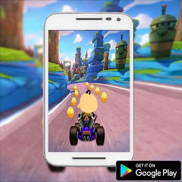 Upin World Ipin Hill Racing apk screenshot
