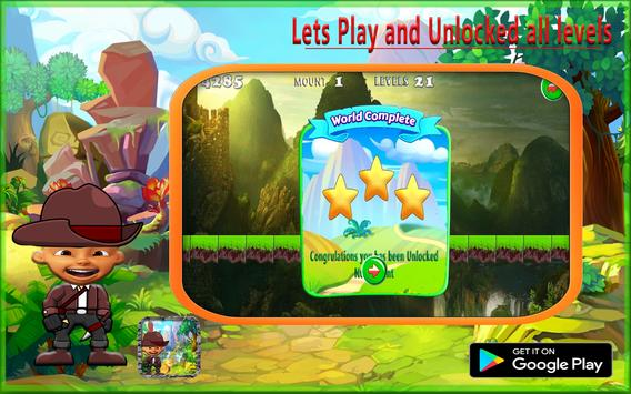 Upin Mountain Adventure screenshot 2