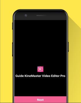 Guide KineMaster Video Editor Pro screenshot 1