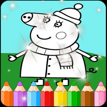 Paint Peppa Pig Cartaz ...
