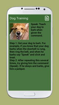 Dog Training screenshot 4