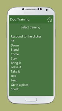 Dog Training screenshot 1