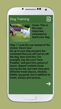 Dog Training screenshot 2