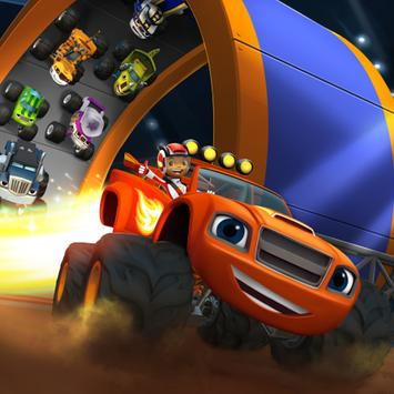 Blaze Monster Machines Nascar apk screenshot
