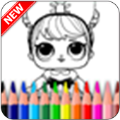 The Coloring App for Kids child icon