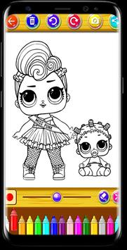 The Coloring App for Kids child poster