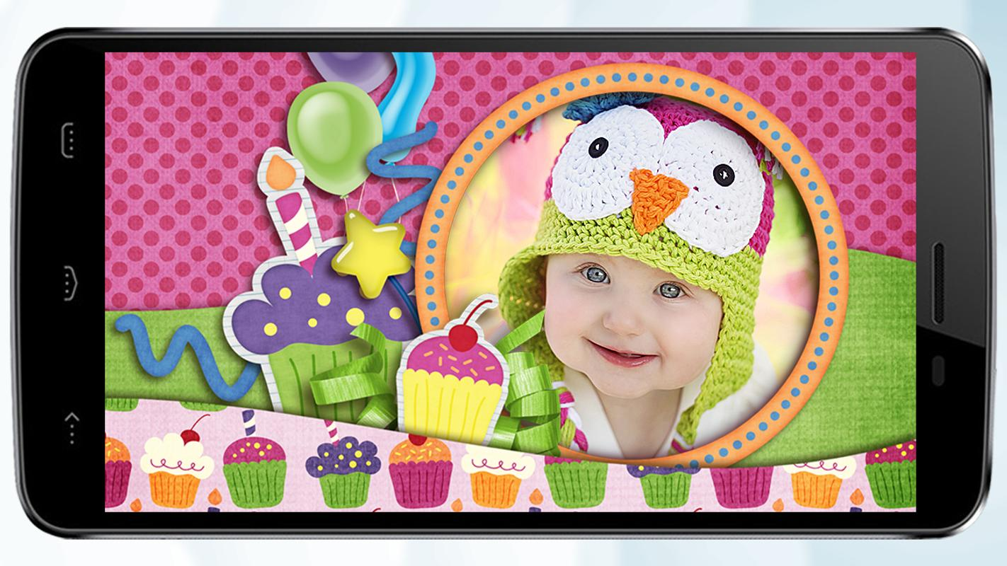 cute baby photo frames picture editor for kids for android apk