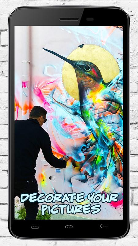 Graffiti Creator To Write On Photo And Add Text For Android Apk