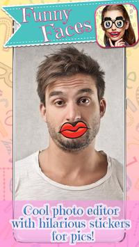 Funny Mouth Stickers - Face Changer App screenshot 10