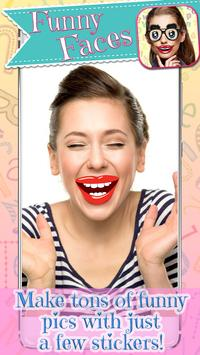 Funny Mouth Stickers - Face Changer App screenshot 13