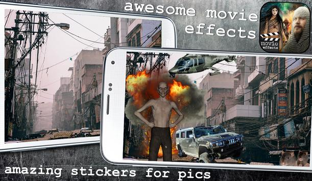 Special Effects for Photos - Action Movie FX App poster