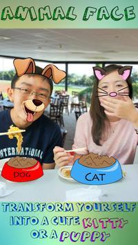 Cute Animal Photo Stickers Cam screenshot 8