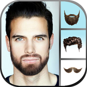 Hairstyle & Beard Salon 3 in 1 icon