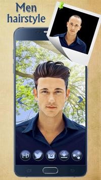 Man Hairstyle Cam Photo Booth poster