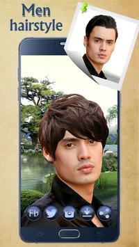 Man Hairstyle Cam Photo Booth screenshot 12
