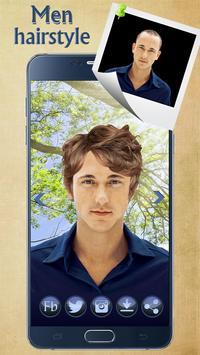 Man Hairstyle Cam Photo Booth screenshot 13
