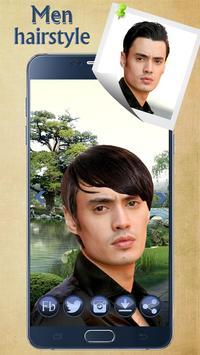 Man Hairstyle Cam Photo Booth screenshot 17