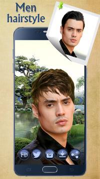 Man Hairstyle Cam Photo Booth screenshot 1