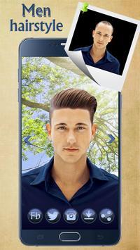 Man Hairstyle Cam Photo Booth screenshot 4
