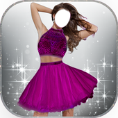 Short Dress Up Fashion Montage icon