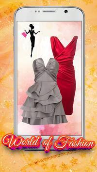 Short Dress Up Fashion Montage apk screenshot