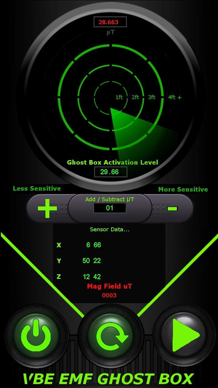 VBE EMF GHOST BOX RADAR FREE for Android - APK Download