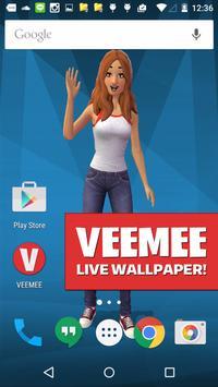 Veemee Avatar Live Wallpaper poster